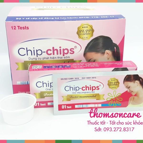 [Lấy mã giảm thêm 30%]Que thử thai Chip Chip - chính xác - giao hàng luôn che tên kín đáo sản phẩm có nguồn gốc xuất xứ rõ ràng sử dụng dễ dàng cam kết hàng nhận được giống với mô tả
