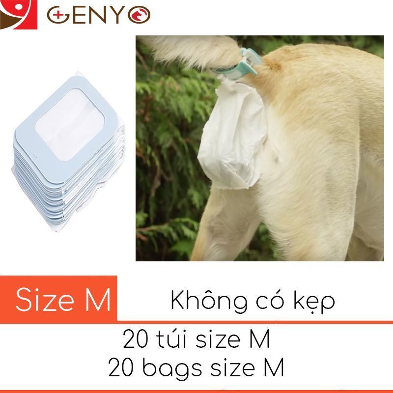 20 túi nilon hốt phân thông minh - Túi Nilon 002
