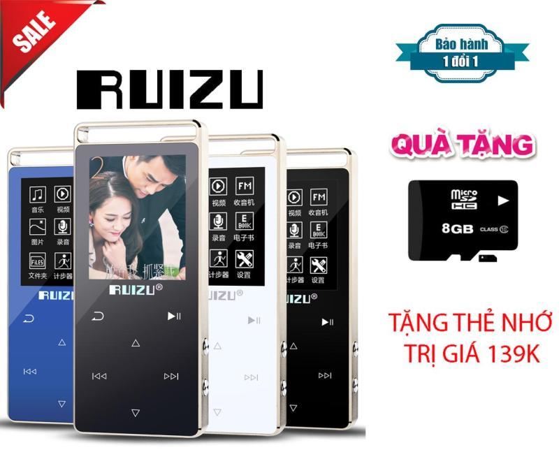 Máy Nghe Nhạc Lossless Thể Thao HiFi Ruizu D01 + Tặng thẻ nhớ 8Gb Class 10