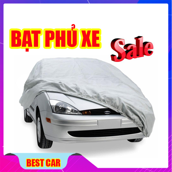Bạt phủ xe ô tô cao cấp cho xe Vios, Xe 5 chỗ -  bạt phủ xe hơi chống bụi, chống mưa, chống xước - bảo vệ toàn diện