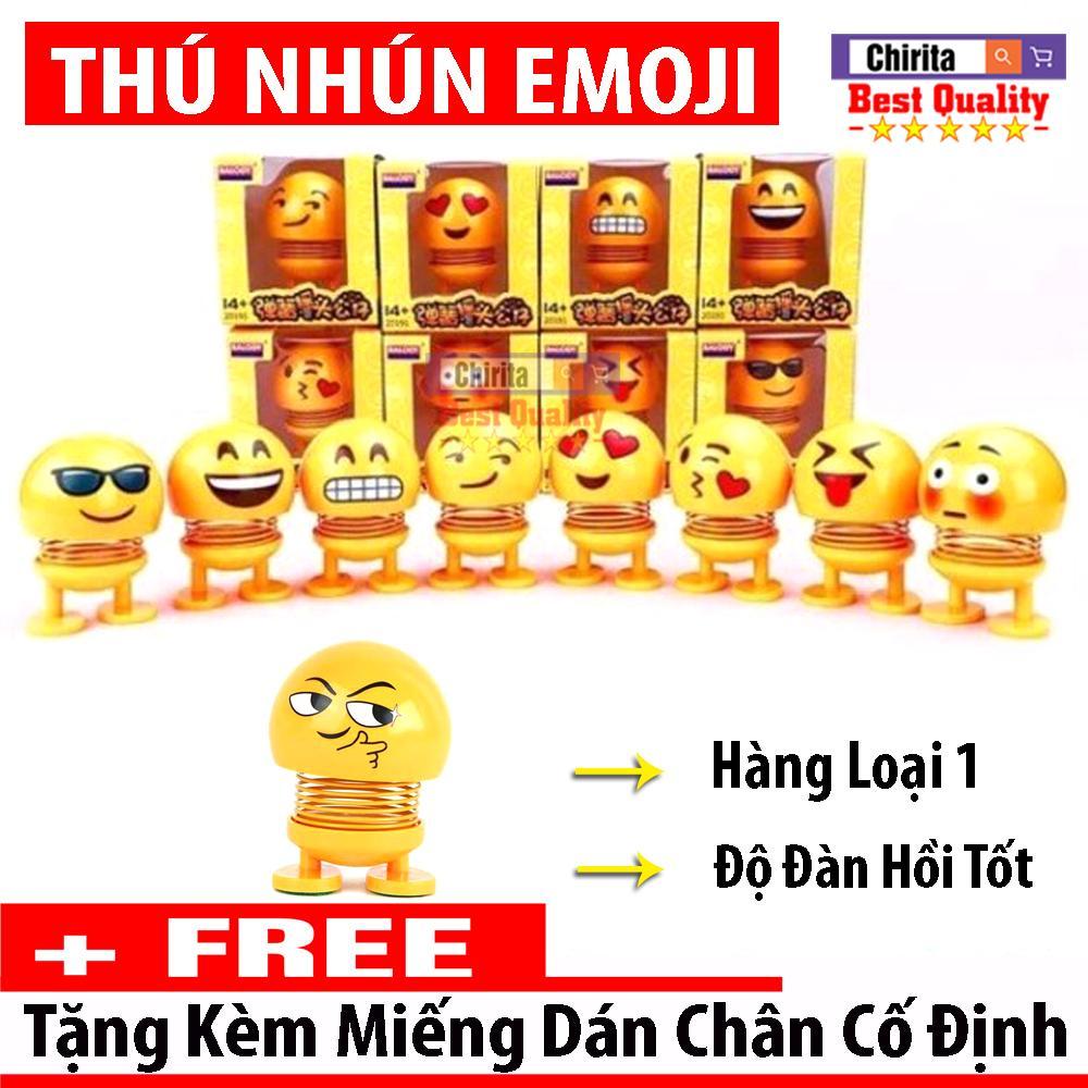 Thú Nhún Emoji Icon Ngộ Nghĩnh - Thú Nhún Lò Xo - Emoji Lò Xo Đồ Chơi Giảm Stress ( Giao Hàng Mẫu Ngẫu Nhiên )