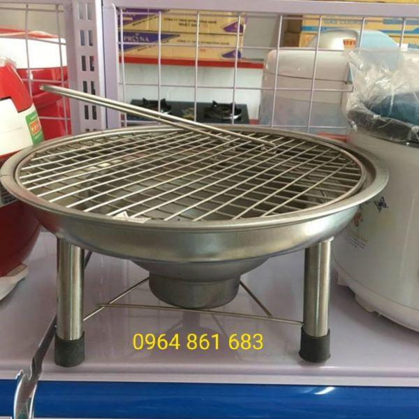 bếp nướng than hoa inox 304 không rỉ - tiện lợi - bếp nướng than bbq