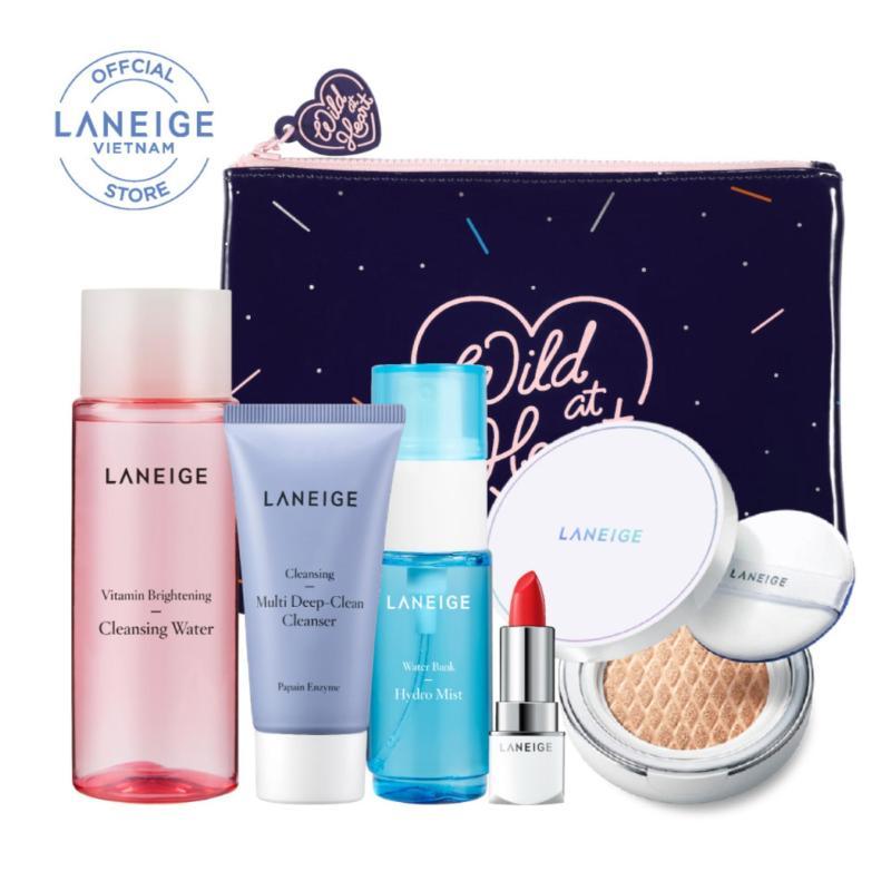 Combo làm sạch và trang điểm du lịch Laneige MakeupTravel Trial Set tốt nhất