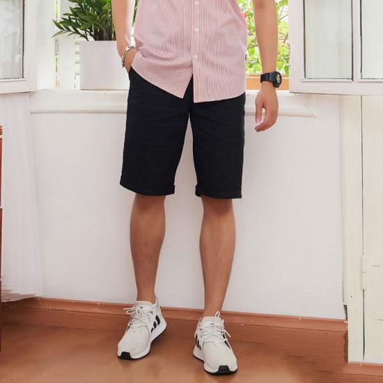 [HCM][Có hình thật] Quần short kaki nam co dãn có big size kiểu dáng thời trang nam tính (Nhiều màu)