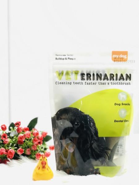 Xương Gặm Sạch Răng Thơm Miệng Cho Chó Vet Erinarian Yaho - 160g