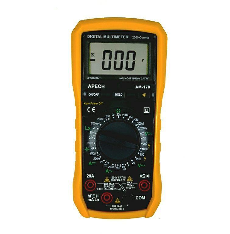 Đồng hồ đo cuộn cảm APECH AM-178