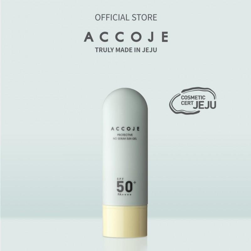 Gel chống nắng Accoje Protective No Sebum Sun Gel SPF 50+ PA++++