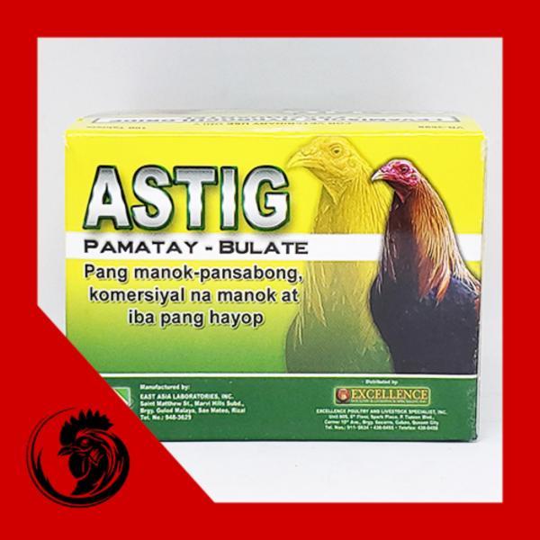 ASTIG - Th.uốc xổ lãi gà đá - vỉ 10 viên