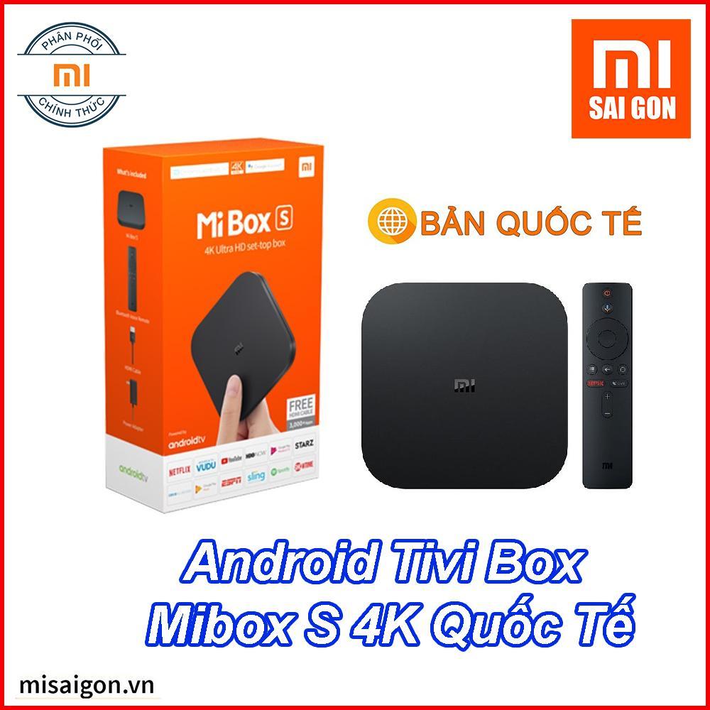 Bảng giá Android Tivi Box Mibox S 4K Xiaomi Quốc Tế