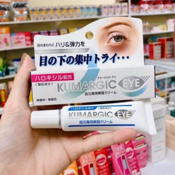 Kem Hỗ Trợ Cải Thiện Thâm quầng Mắt Kumargic Của Nhật 20g - Kem Giảm Thâm Mắt Kumagic Nhật Bản 20gr