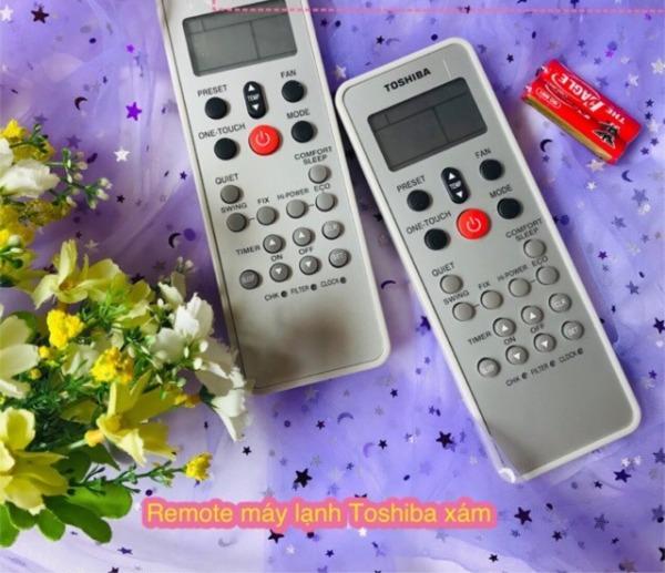 Remote máy lạnh TOSHIBA Xám