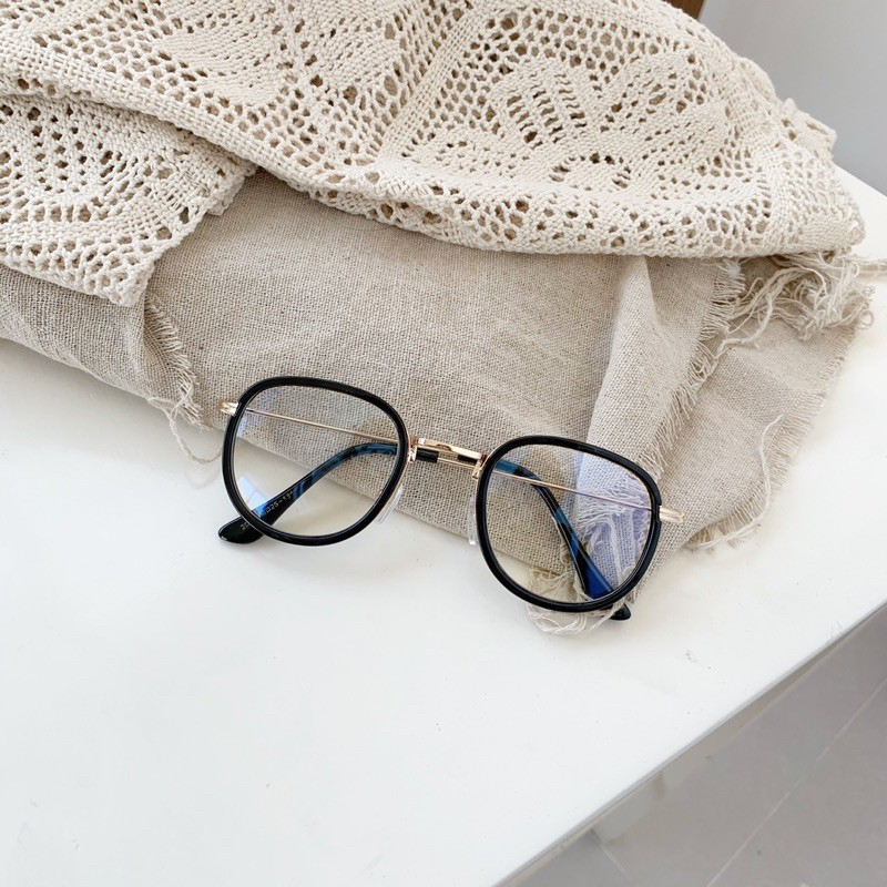 Giá bán Gọng kính mắt bo tròn càng tăm phong cách Hàn Quốc - 2083