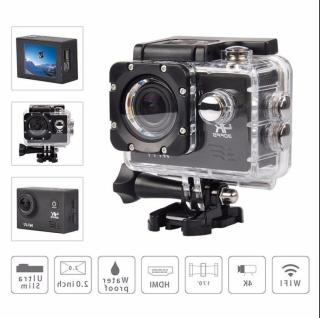 ( FREE SHIP - GIẢM GIÁ 50% ) Camera hành trình 4K. Camera hành trình Mẫu Mớxe máy Sport Cam A19 Wifi 4K có REMOTE Chống Nước Ngoài Trời HD Chống Rung Máy ảnh WIFI Kỹ Thuật Số 4K Action Cam ( ( BẢO HÀNH 12 THÁNG - 1 ĐỔI 1 ) ) thumbnail