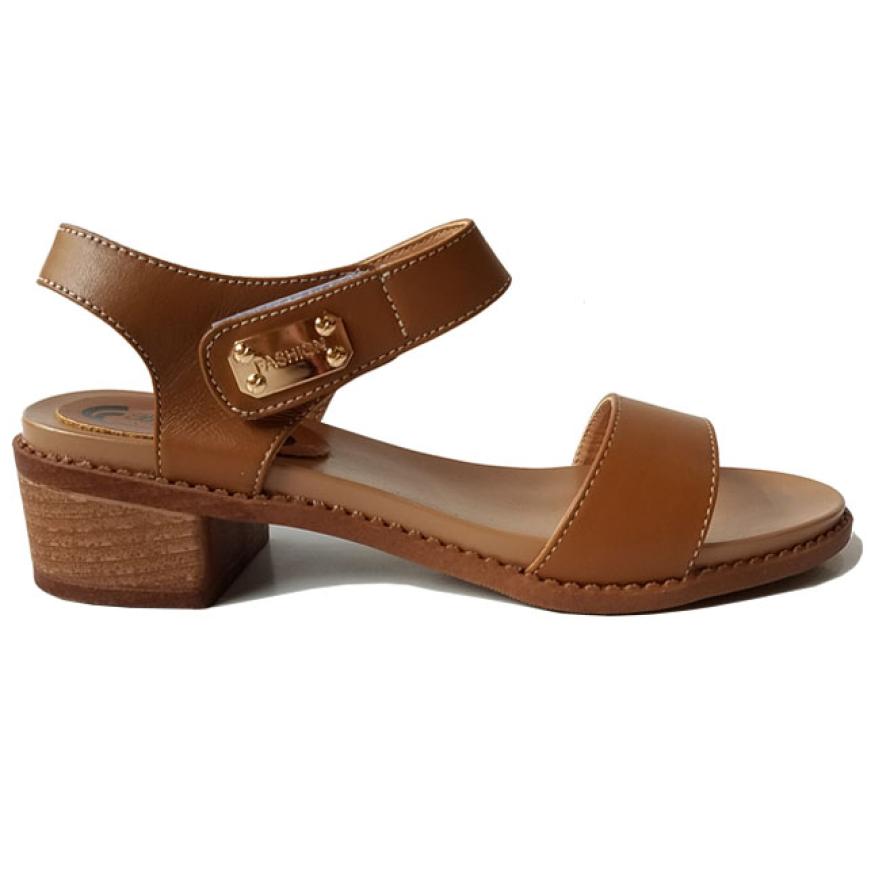 Giày Sandal Nữ Cao Gót Da Bò BIGBEN CG88 giá rẻ