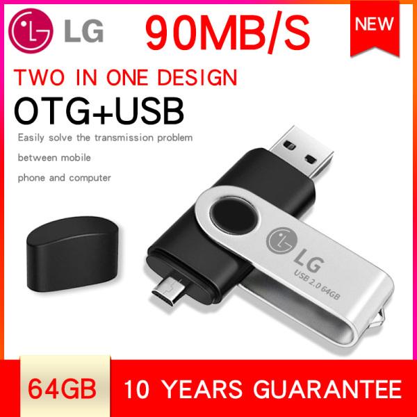 Bảng giá Ổ flash LG 64GB 2 trong 1 OTG cho cổng micro USB và cổng USB máy tính tốc độ cao Xoay với dây buộc miễn phí Phong Vũ