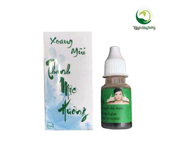 Thảo mộc tri viêm xoang viêm mũi dị ứng cổ truyền Thanh Mộc Hương cao cấp