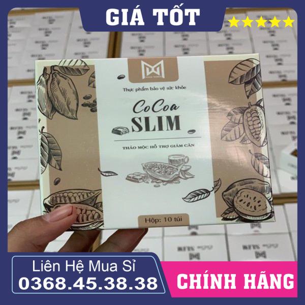Giảm Cân Cocoa Slim Chính Hãng Việt Nam Siêu Giảm Cân