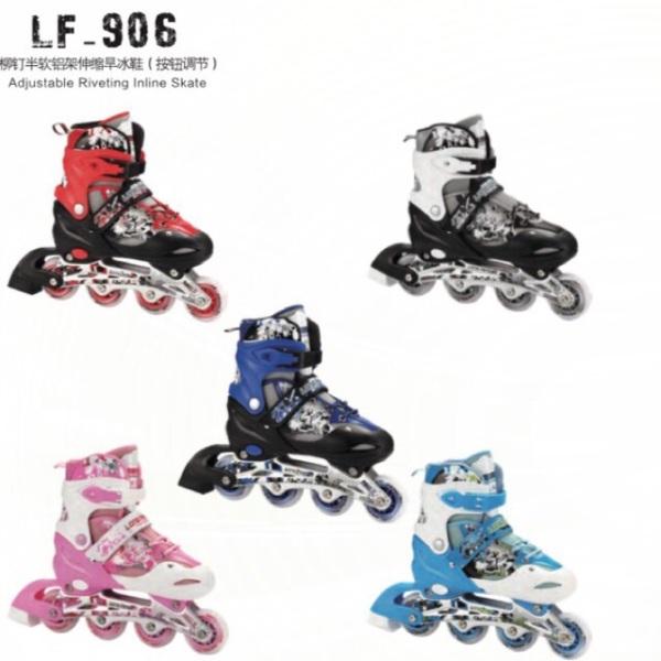 Giá bán Giày Trượt patin 906( khung kim loại có đèn) có đủ 5 màu