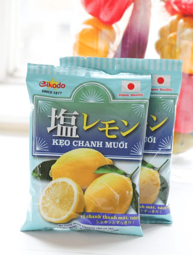Kẹo Chanh Muối Nhật Bản 120g
