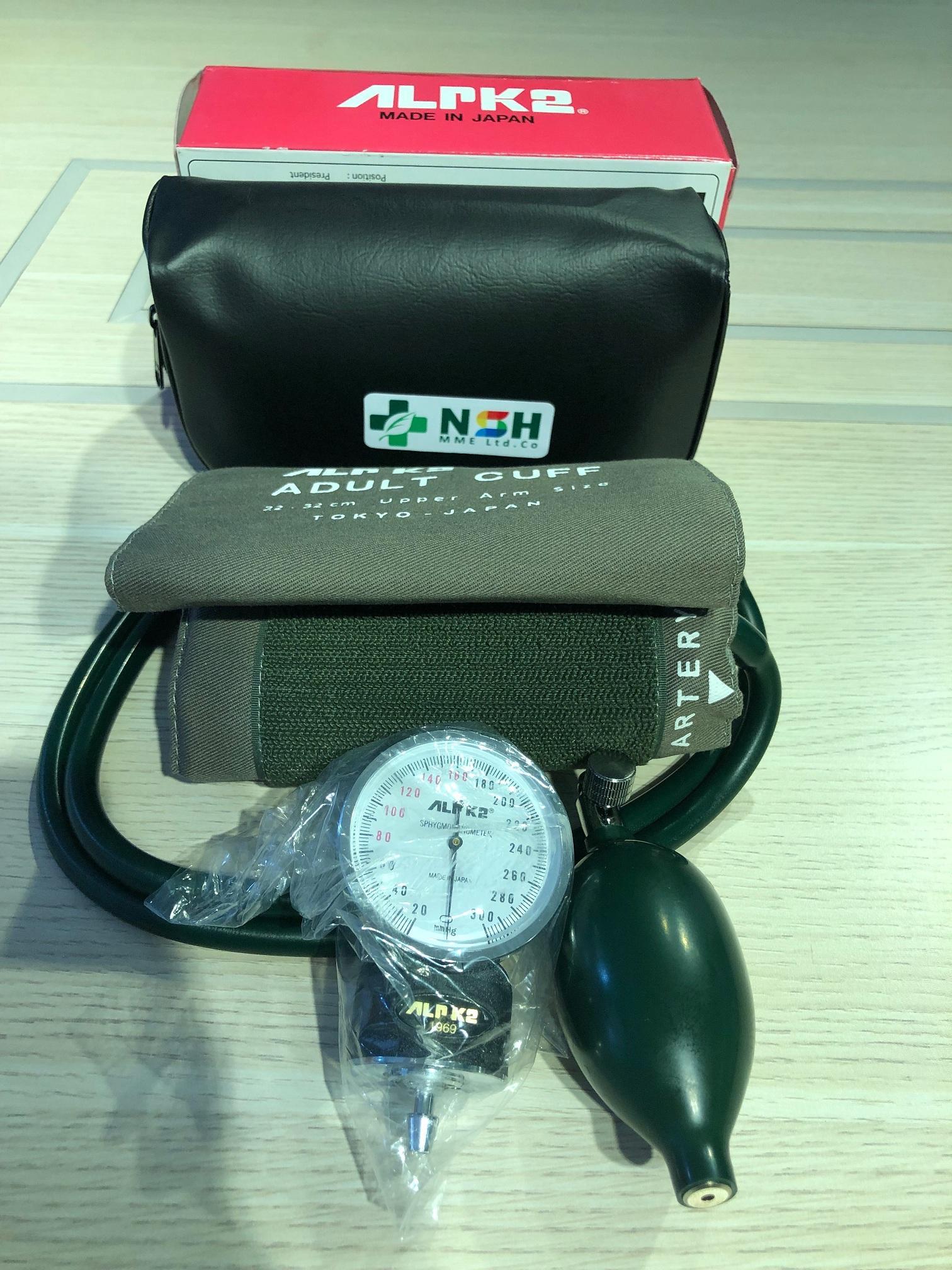Nơi bán Đầu Máy đo huyết áp cơ ALPK2 NHẬT BẢN không kèm ống nghe