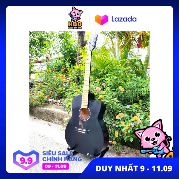 [TẶNG KHÓA HỌC ĐÀN] Đàn guitar giá rẻ cho sinh viên HAK1 + pick và dây 1 + Giáo trình online