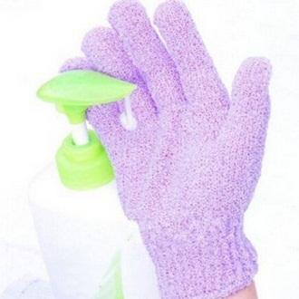 Găng tay tắm tẩy tế bào chết