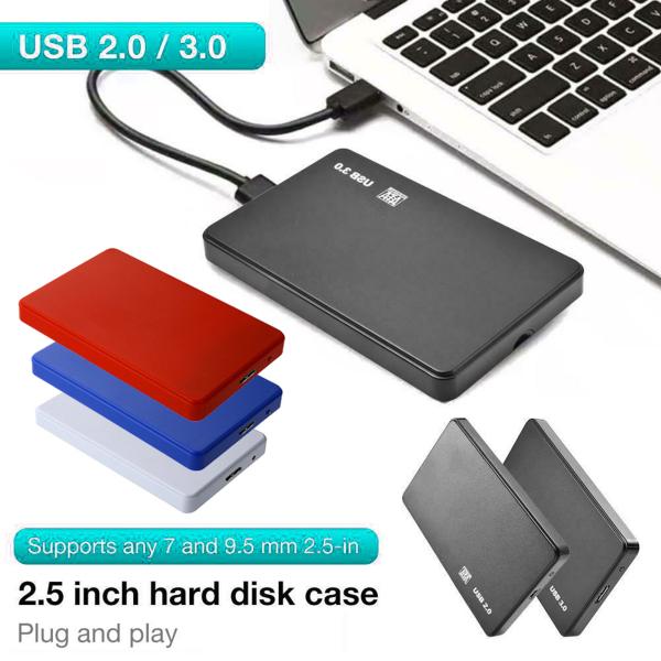 Bảng giá Trong Kho Bao Vây SSD SATA HDD USB3.0/2.0 2.5Inch Hộp Đựng Ổ Cứng Di Động Cho Máy Tính Xách Tay Phong Vũ