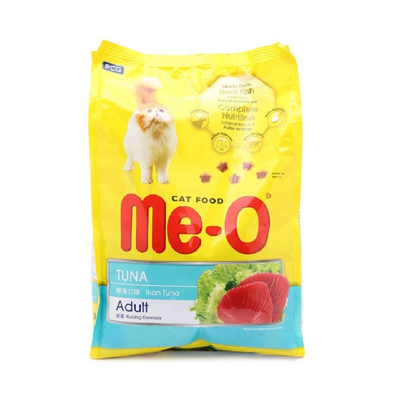 Thức ăn cho mèo lớn đã trưởng thành trên 1 tuổi Me-O Adult Cá ngừ 350gr