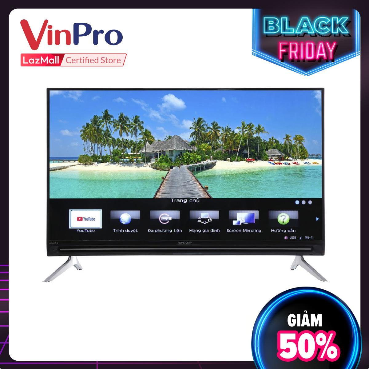 Bảng giá Smart Tivi Sharp 32 inch HD LC-32SA4500X - Hàng Chính Hãng - Công nghệ hình ảnh: X2 Master Engine, Công nghệ âm thanh: Dolby Audio, Bass Enhancer - Bảo hành 1 năm