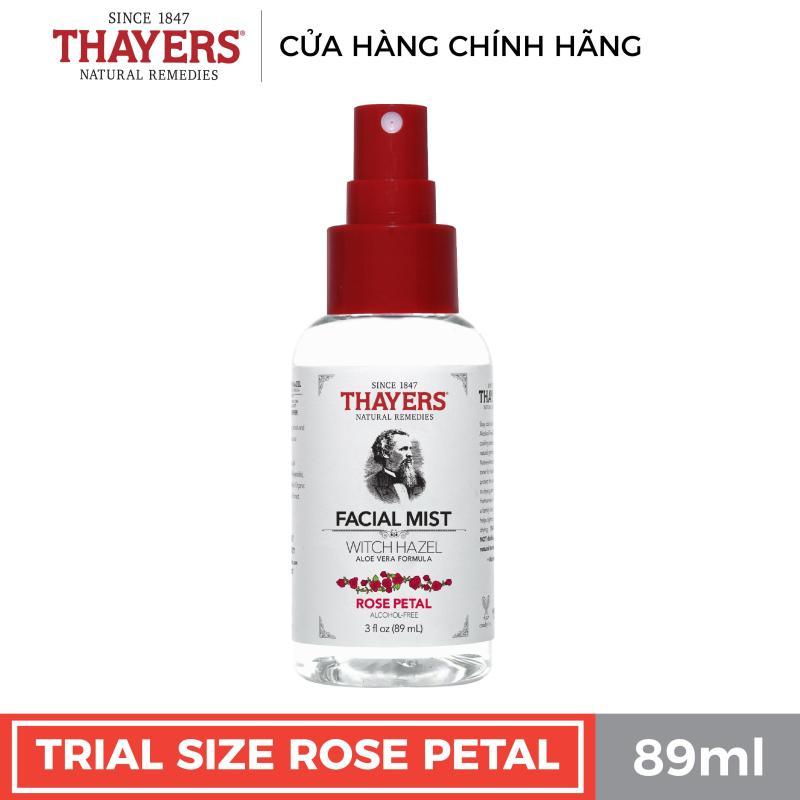 Nước hoa hồng không cồn THAYERS - Hương hoa hồng - Dạng xịt 89ml giá rẻ