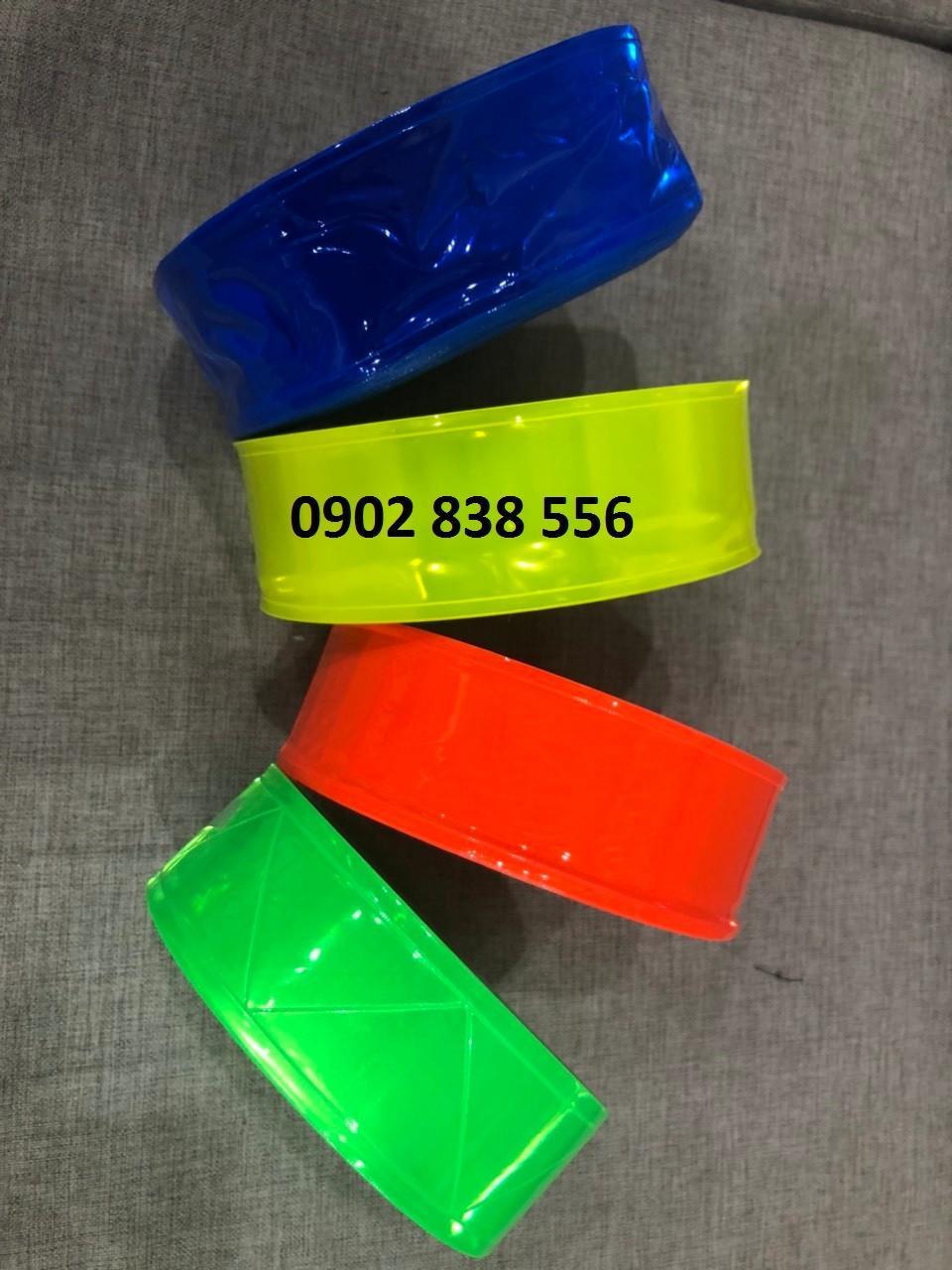 Băng keo nhựa phản quang bản 5cm x 50m
