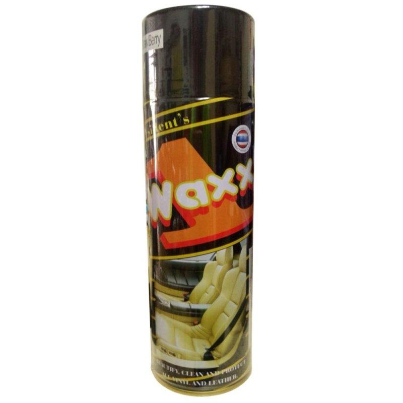 Chai xịt bóng da cho ô tô  Wax 1 450g