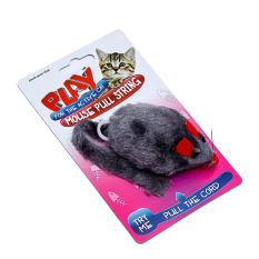 Chuột đồ chơi có móc kéo cho mèo Uncle Bills PA1529 20cm