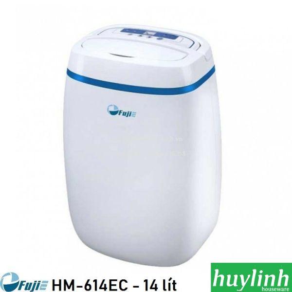 Máy hút ẩm dân dụng Fujie HM-614EB - 14 lít/ngày