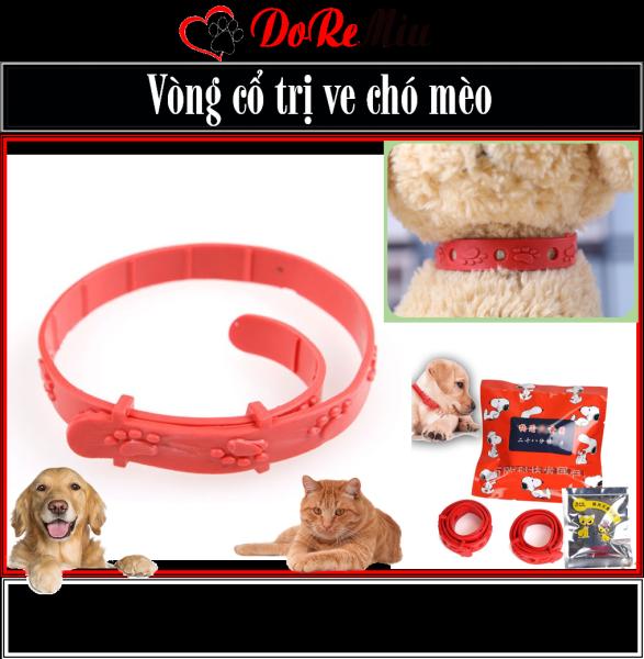 Doremiu- Vòng cổ chó mèo Vòng cổ trị ve rận bọ chét cho chó mèo giá rẻ nhất hệ mặt trời