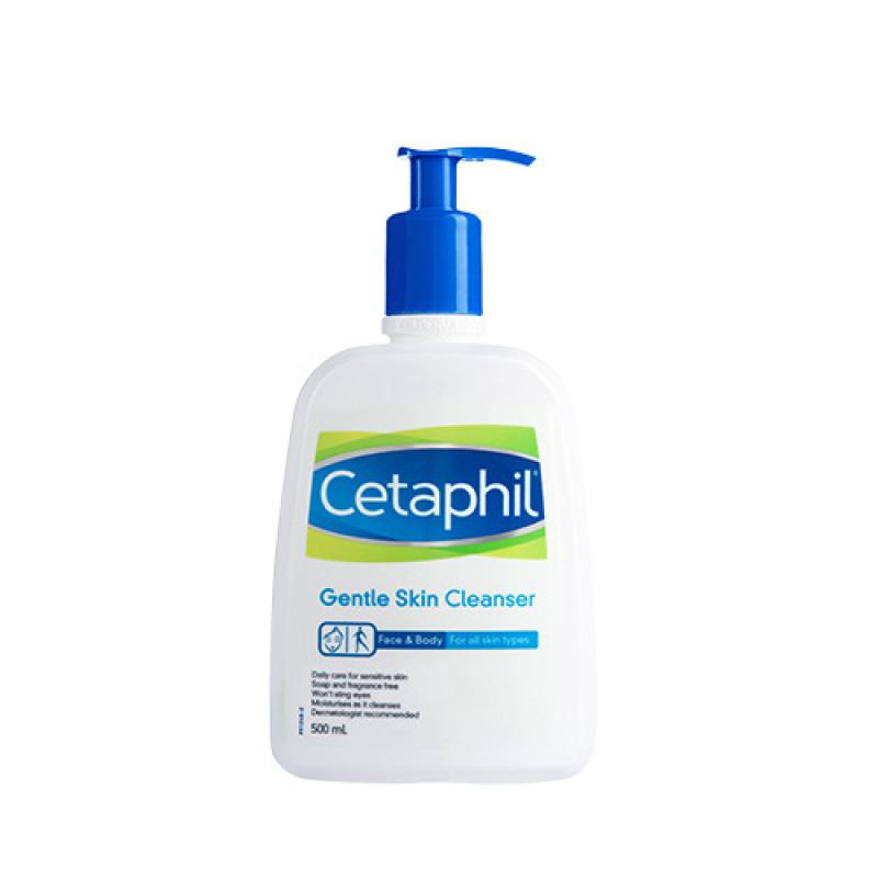 Sữa Rửa Mặt Dịu Nhẹ Cho Mọi Loại Da Cetaphil Gentle Skin Cleanser 500ml