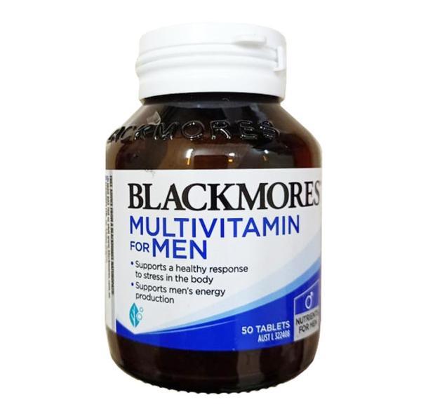 Vitamin tổng hợp cho Nam - Blackmores Multi vitamin for men lọ 50 viên