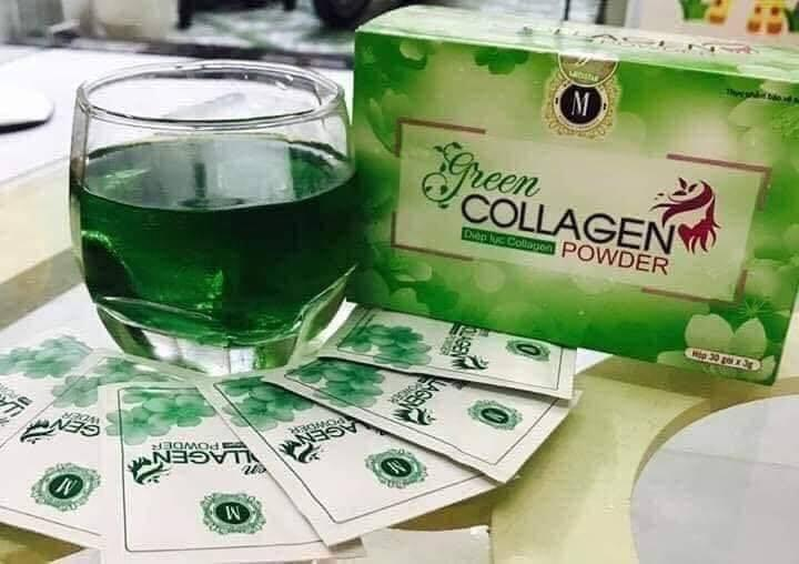Diệp Lục Collagen Powder