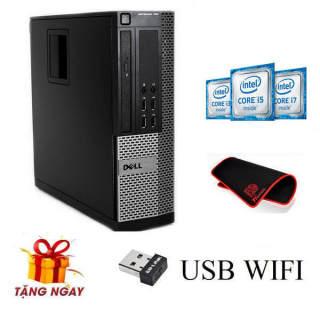 Cây máy tính để bàn Dell OPTIPLEX 790 Sff, EX (CPU G620, Ram 4GB, HDD 250GB, DVD) tặng USB Wifi, bảo hành 24 tháng, hàng nhập khẩu (không kèm màn hình). thumbnail