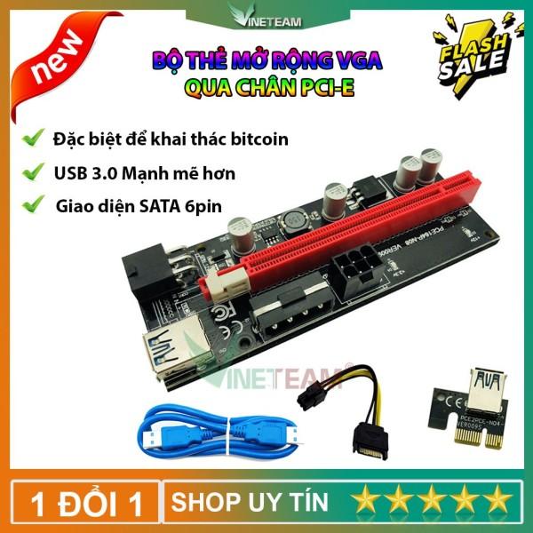 Bảng giá Thẻ đồ họa PCI-E Riser 009S 16X cổng USB 3.0 dành riêng cho bộ điều hợp cáp mở rộng PCIE chất lượng cao Phong Vũ