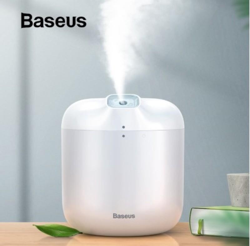 Máy tạo độ ẩm Baseus dung tích lớn 600ML khuếch tán tinh dầu có đèn LED