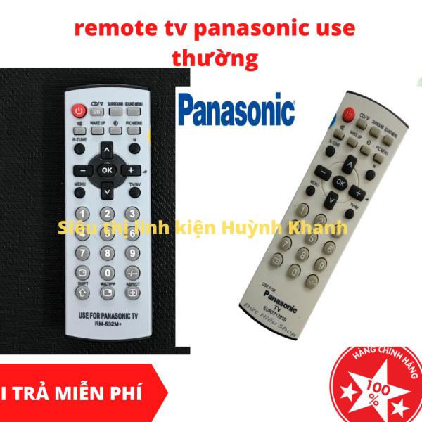 Bảng giá REMOTE TV PANASONIC USE THƯỜNG