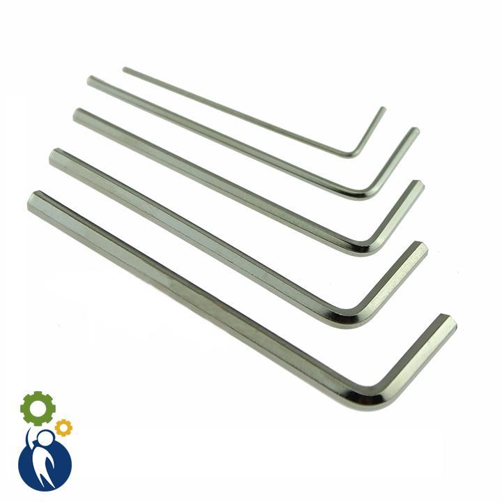 Combo 5 Lục Giác 1.5mm, 2mm, 2.5mm, 3mm, 4mm
