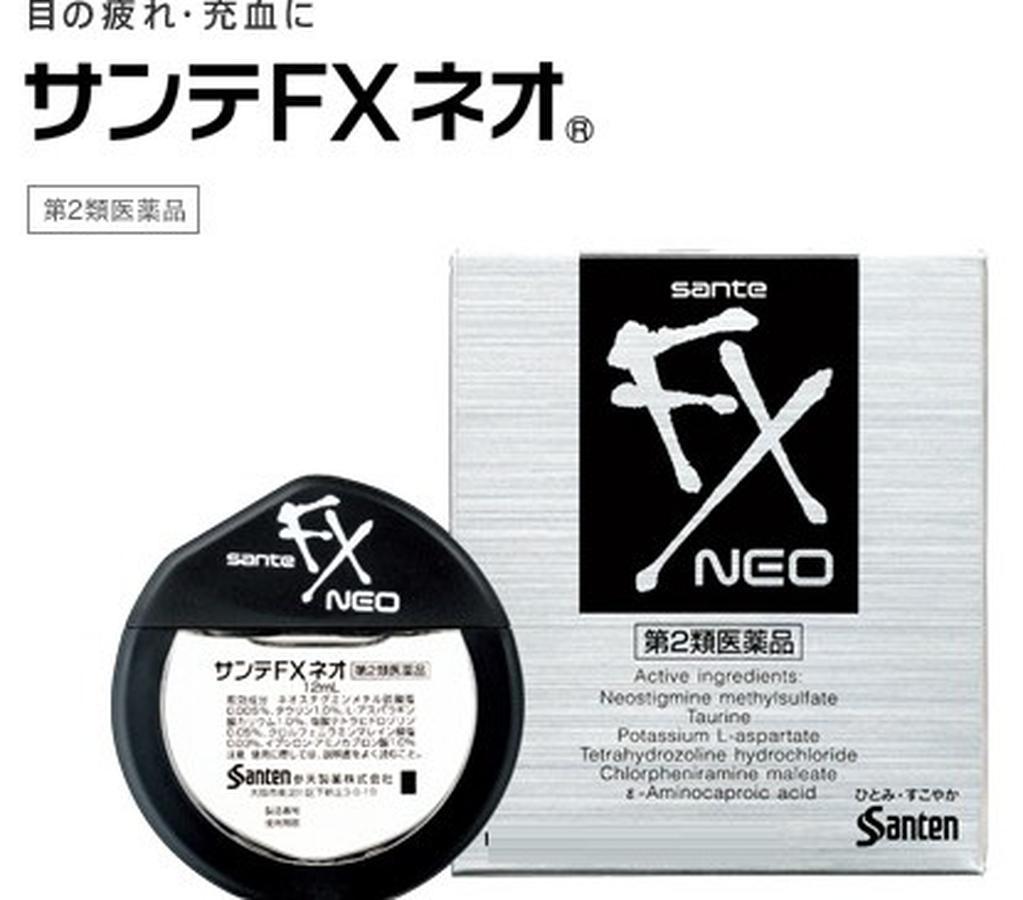 Nhỏ mắt Nhật Sante FX Neo 12ml