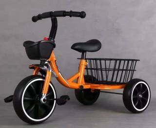 Xe đạp 3 bánh, xe đạp trẻ em có giỏ đựng đồ cao cấp dành cho bé từ 1-6 tuổi thumbnail