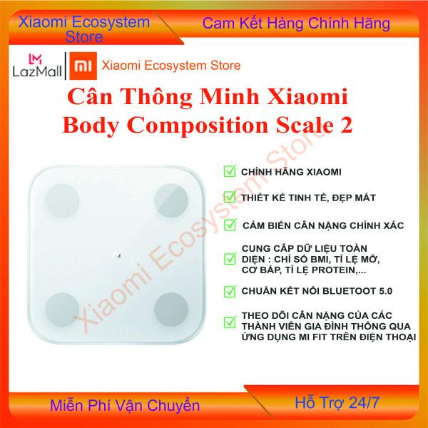 Cân sức khỏe điện tử thông minh Xiaomi Body composition Scale gen 2 | Cân Bluetooth | Cân phân tích chỉ số cơ thể