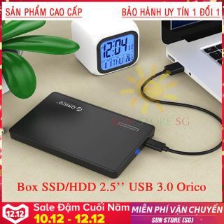 BOX ổ cứng di động SSD & HDD 2.5 USB 3.0 Orico Dòng Cao Cấp Nhập khẩu, phân phối & bảo hành 1 đổi 1 bởi SUN STORE SG thumbnail