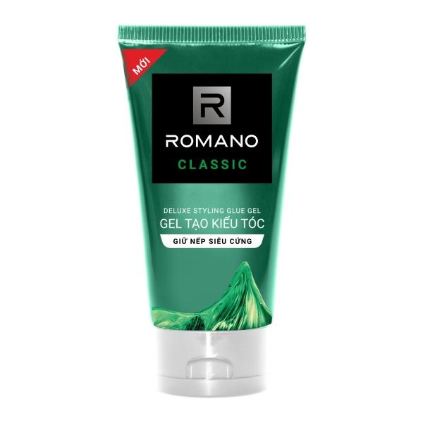 Gel vuốt tóc Romano giữ nếp siêu cứng 150g