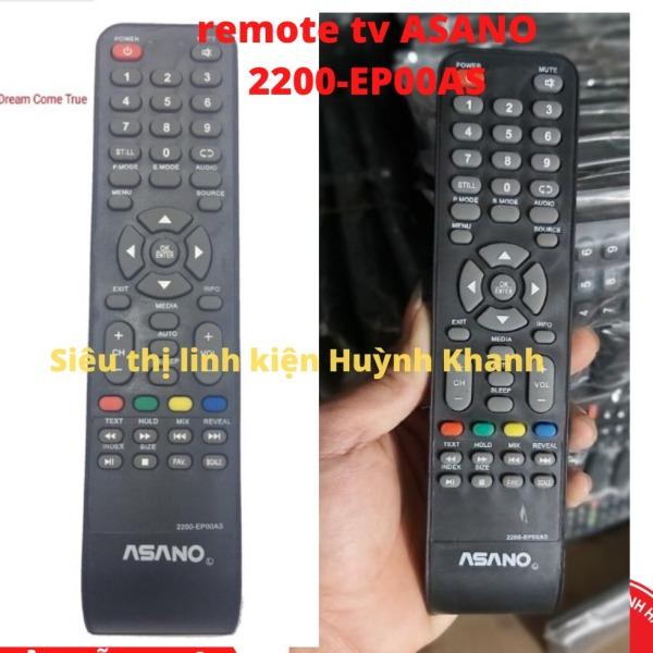 Bảng giá REMOTE TV ASANO 2200-EP00AS BỀN ĐẸP CHÍNH HÃNG