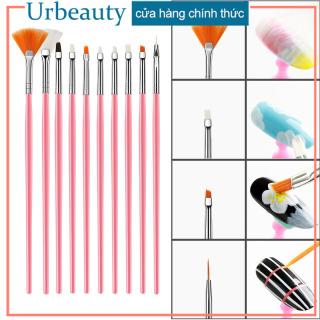 Urbeauty Set 15 cọ vẽ móng nghệ thuật có video hướng dẫn cách vẽ thumbnail